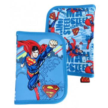 Penar neechipat, 1 fermoar, 2 extensii, bleu, PIGNA Superman