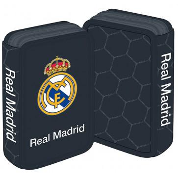 Penar neechipat, 2 fermoare, negru, PIGNA Real Madrid