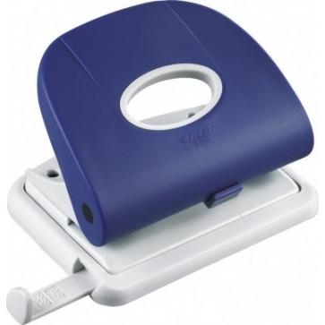 Perforator de birou, pentru maxim 25 coli, albastru, LACO L300