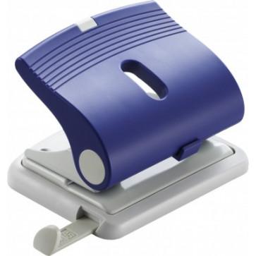 Perforator de birou, pentru maxim 25 coli, albastru, LACO L320
