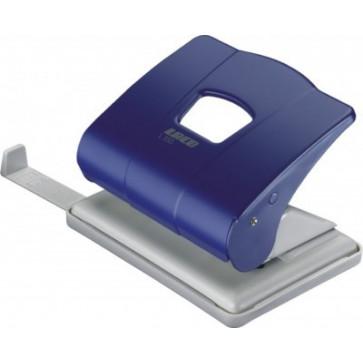 Perforator de birou, pentru maxim 25 coli, albastru, LACO L350