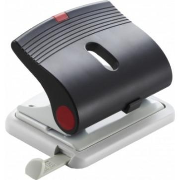 Perforator de birou, pentru maxim 25 coli, negru, LACO L320