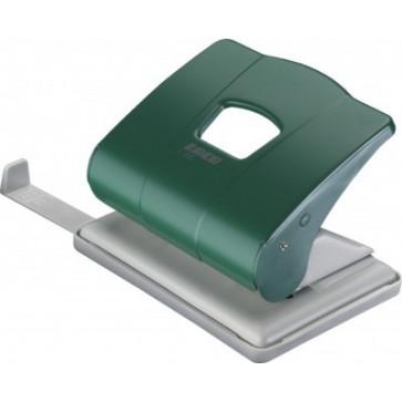 Perforator de birou, pentru maxim 25 coli, verde, LACO L350