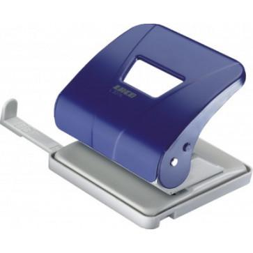 Perforator de birou, pentru maxim 30 coli, albastru, LACO L301