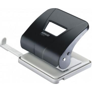 Perforator de birou, pentru maxim 30 coli, negru, LACO L301