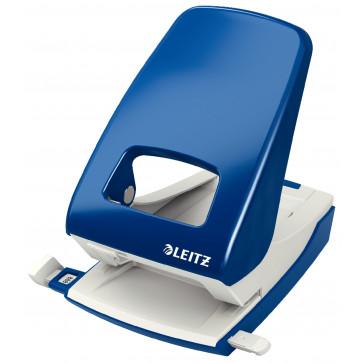 Perforator metalic de birou, pentru maxim 40 coli, albastru, LEITZ 5138 NeXXt Series