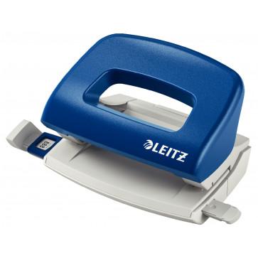 Perforator plastic de birou, pentru maxim 10 coli, albastru, LEITZ 5058 NeXXt Series