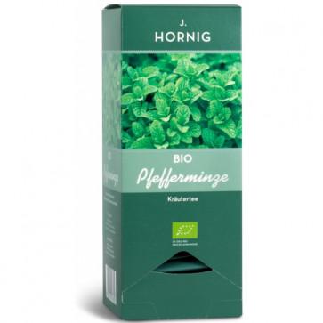 Ceai verde BIO, 25 plicuri triunghiulare, J. HORNIG