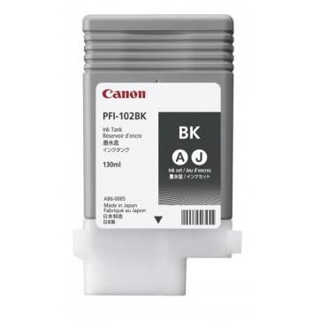 Cartus, black, CANON PFI-102BK