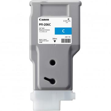 Cartus, cyan, CANON PFI-206C