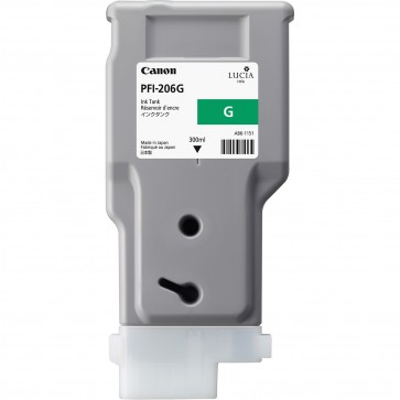 Cartus, green, CANON PFI-206G
