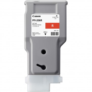 Cartus, red, CANON PFI-206R