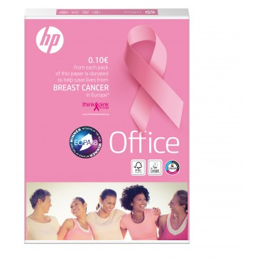 Hartie A4, 80 g/mp, 500 coli/top, HP OFFICE Pink Ream
