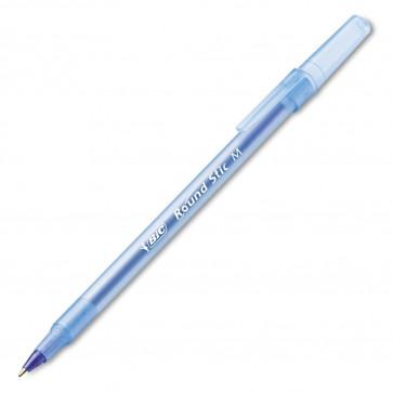 Pix fara mecanism, 0.7mm, albastru, BIC Round Stic