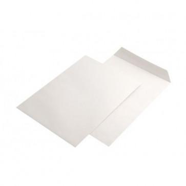 Plic C4 (229 x 324mm), gumat, alb, 90 g/mp, 250 buc/cutie, GPV