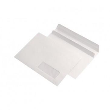 Plic C5 (162 x 229mm), autoadeziv, alb, 80 g/mp, cu fereastra dreapta, 500 buc/cutie, GPV