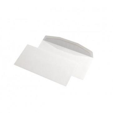 Plic C5 (162 x 229mm), gumat, alb, 80 g/mp, 500 buc/cutie, GPV