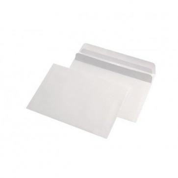 Plic C6 (114 x 162mm), autoadeziv, alb, 70 g/mp, 1000 buc/cutie, GPV