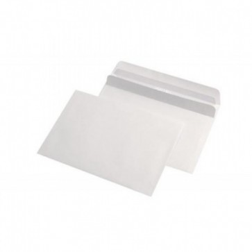 Plic C6 (114 x 162mm), autoadeziv, alb, 70 g/mp, 25 bucati/pachet, GPV