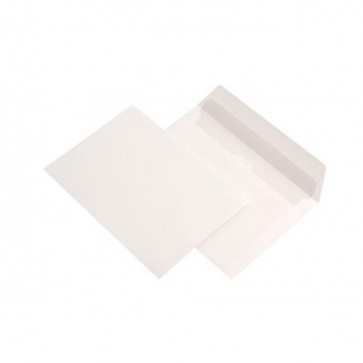 Plic C6 (114 x 162mm), gumat, alb, 70 g/mp, 1000 buc/cutie, GPV