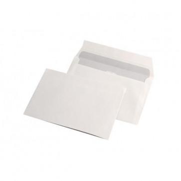 Plic C6 (114 x 162mm), siliconic, alb, 70 g/mp, 1000 buc/cutie, GPV