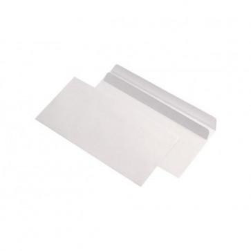 Plic DL (110 x 220mm), autoadeziv, alb, 80 g/mp, fara fereastra, 1000 buc./cutie, GPV