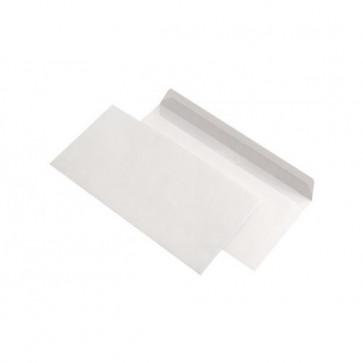 Plic DL (110 x 220mm), gumat, alb, 80 g/mp, fara fereastra, 1000 buc./cutie, GPV
