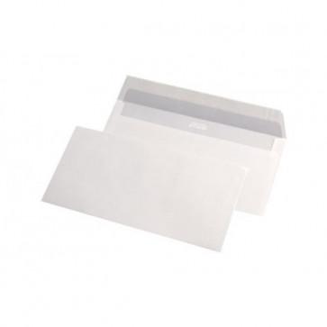 Plic DL (110 x 220mm), siliconic, alb, 80 g/mp, fara fereastra, 1000 buc./cutie, GPV