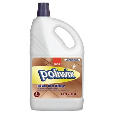 Detergent concentrat pt. pardoseli, 2 L, SANO Poliwix Granit Porcelain