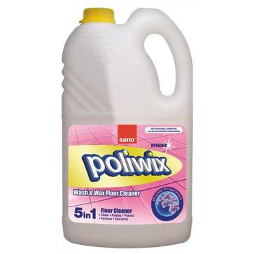Detergent lichid cu ceara pt. pardoseli, 1 L, SANO Poliwix Orchid