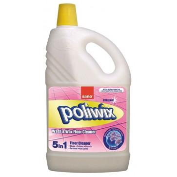 Detergent lichid cu ceara pentru pardoseli, 2 L, SANO Poliwix Orchid