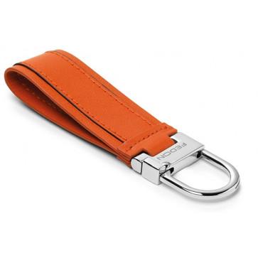 Breloc, portocaliu, din piele de bovina, FEDON Key Holders Pchiavi-22