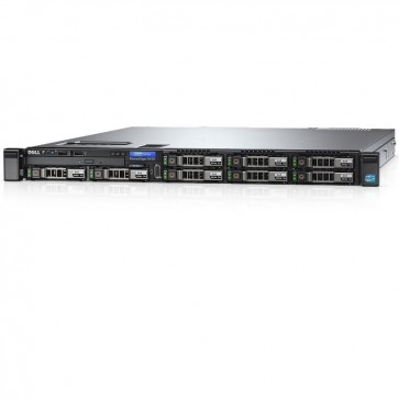 Server DELL PowerEdge R430 Rack 1U, Procesor Intel® Xeon® E5-2609 v3 1.9GHz Haswell, 16GB RDIMM DDR4, 1x 300GB SAS 10K, LFF 3.5 inch, PERC S130, 3Yr NBD