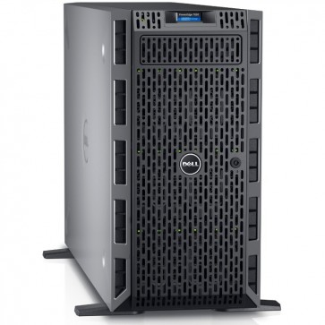 Server DELL PowerEdge T630, Procesor Intel® Xeon® E5-2630 v3 2.4GHz Haswell, 2x 8GB RDIMM DDR4 2133MHz, fara HDD, LFF 3.5 inch, PERC H730P 1GB, 1100W, 3Yr NBD