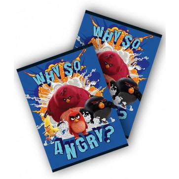 Caiet A5, 48 file, matematica, PIGNA Premium Angry Birds