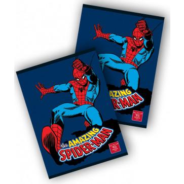 Caiet A5, 48 file, matematica, PIGNA Premium Spiderman