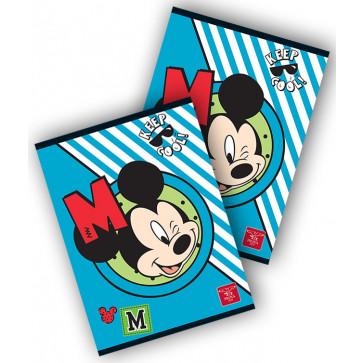 Caiet A5, 80 file, dictando, PIGNA Premium Mickey Mouse