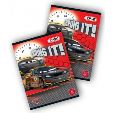 Caiet A5, 80 file, matematica, PIGNA Premium - Cars