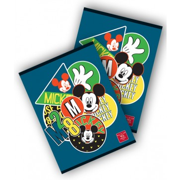 Caiet A4, 80 file, matematica, PIGNA Mickey Mouse