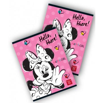 Caiet A5, 80 file, matematica, PIGNA Premium Minnie Mouse
