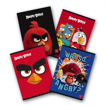 Caiet A5, 24 file, tip 2, PIGNA Angry Birds