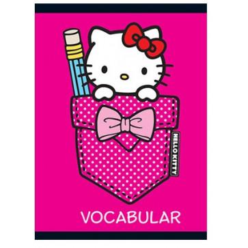 Vocabular, 12 x 17cm, 24 file, PIGNA Premium - Hello Kitty