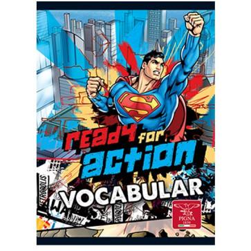 Vocabular, 12 x 17cm, 24 file, PIGNA Superman