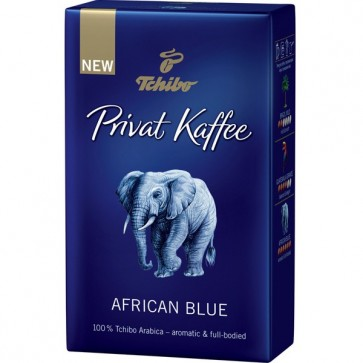Cafea prajita si macinata, 250g, TCHIBO African Blue Privat kaffee