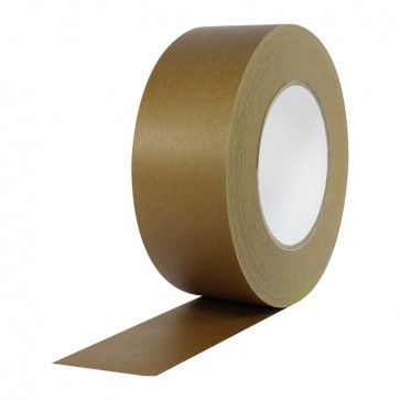 Banda adeziva din hartie, solvent, 48mm x 60m, kraft, VIBAC