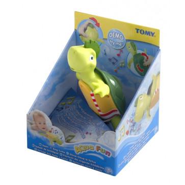 Broasca testoasa care inoata si canta, TOMY Bath Toys -Aqua Fun