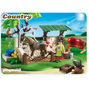 Centru de ingrijire pentru cai, PLAYMOBIL Pony Farm
