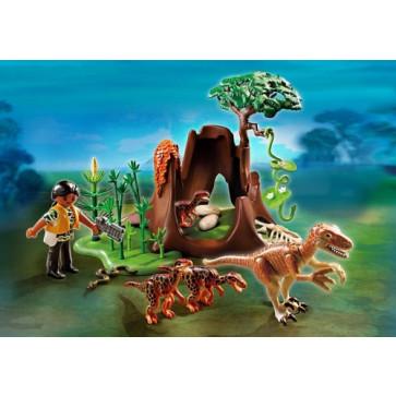 Deinonychus si Velociraptors, PLAYMOBIL Dinos