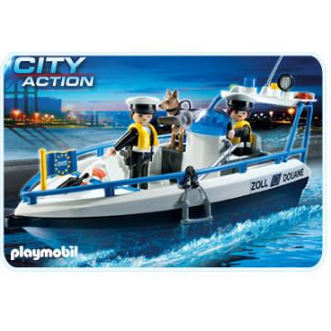 Barca de patrulare, PLAYMOBIL Transport