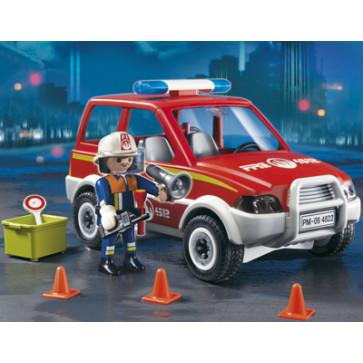 Masina pompierului sef, PLAYMOBIL Fire Rescue